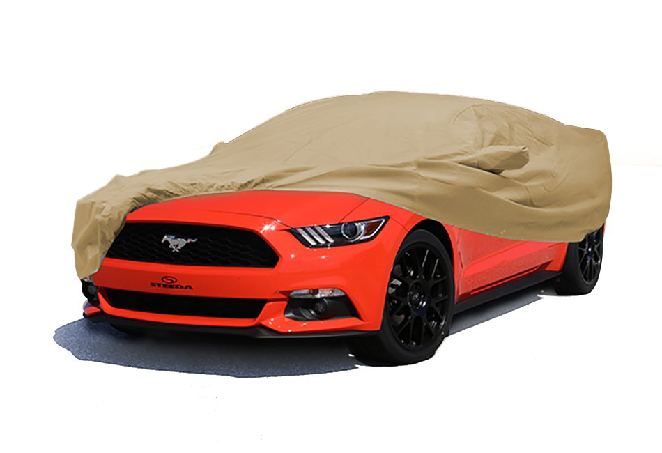 Covercraft Mustang Deluxe 380 Convertible Exterior Taupe Car Cover (15-17 All)