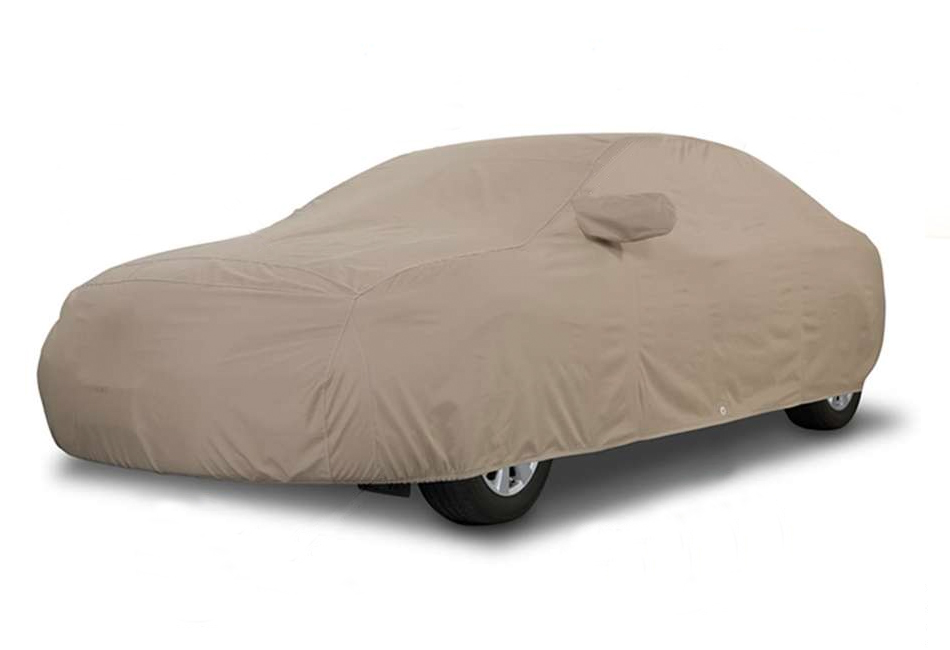 Covercraft Mustang LX Hatchback Block-It 380 Exterior Taupe Car Cover (1987-1993)