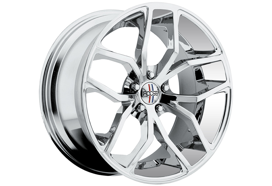 Foose Chrome Outcast 20x10 Mustang Wheel (05-15)