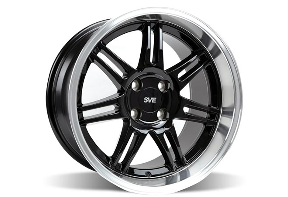 Ford Fusion Tires >> Ford Mustang SVE Deep Dish Anniversary Wheel - 17x10 Black ...