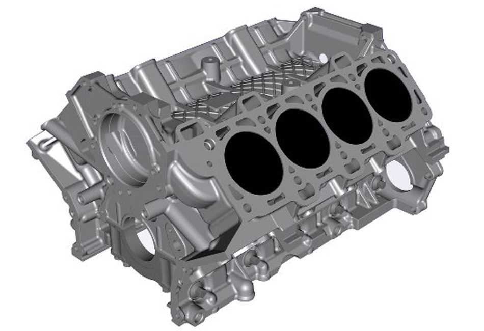Ford Performance GT350 5.2L Coyote Aluminum Cylinder Block (15-17 GT350)