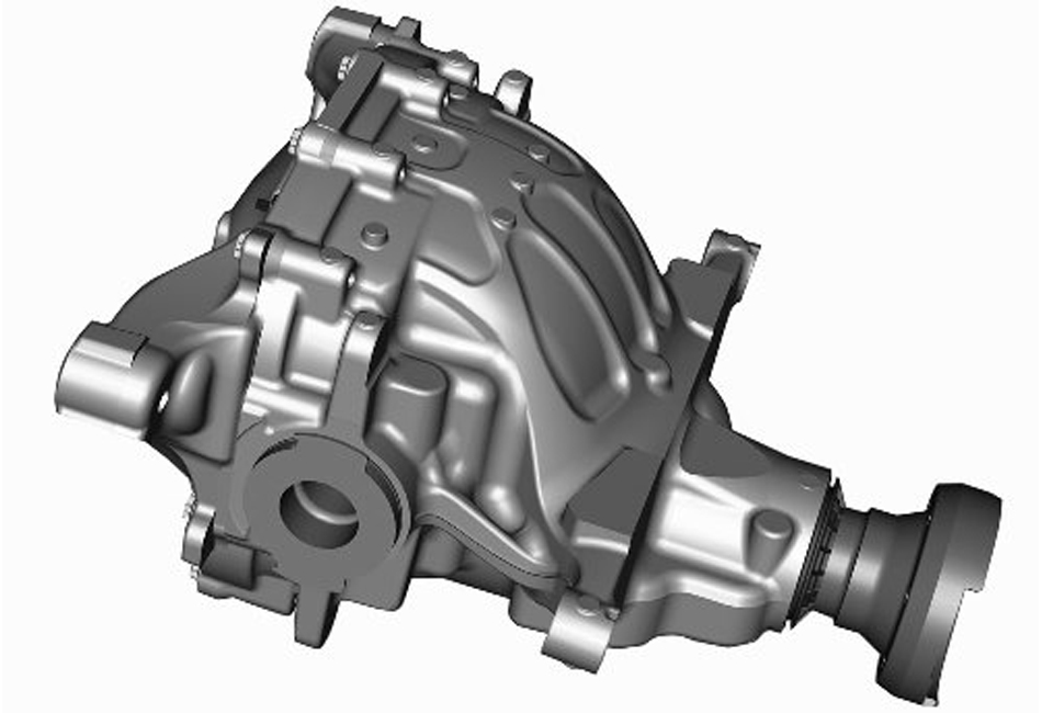 Ford Racing S550 Mustang IRS Loaded Differential Housing 3.55 (15-17 All)