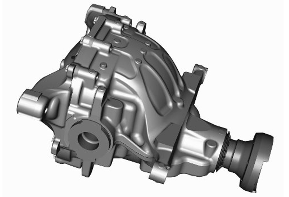 Ford Racing S550 Mustang IRS Loaded Differential Housing 3.73 Torsen (15-17 All)