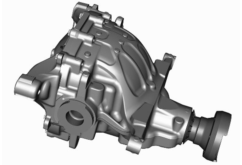 Ford S550 Mustang IRS Aluminum Differential Housing (15-17 GT)