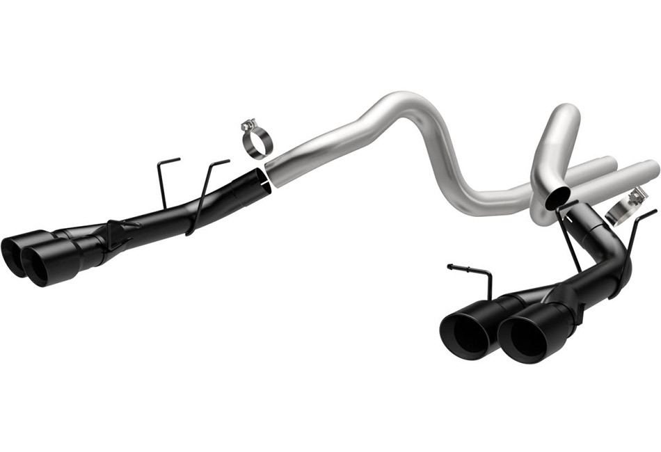 Magnaflow Mustang Competition Catback Exhaust w/ Black Quad Tips (13-14 GT500)