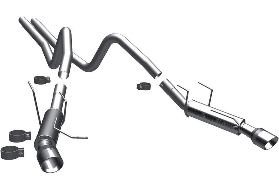 MagnaFlow Mustang V6 Competition Cat-Back Exhaust (2011-2012)
