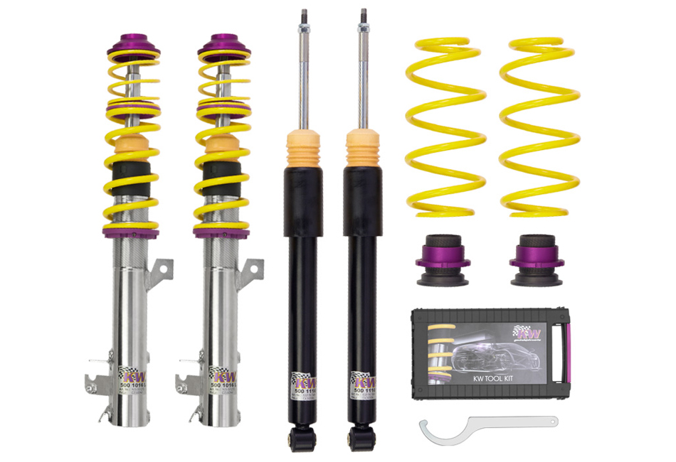 KW Suspension V1 S550 Mustang Coilover Kit (15-17 All)
