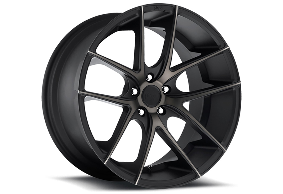 Niche Sport Targa Black Machined w/ Tint Mustang Wheel 18x8 (05-15)