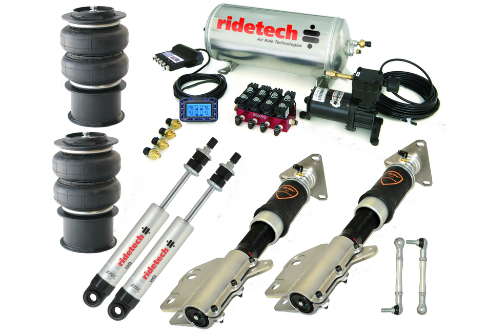 Ridetech S550 Mustang Level 2 Air Suspension System (2015-2020)