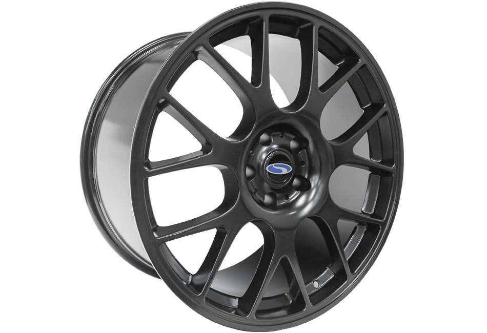 Steeda Mustang ST-R Mesh Wheel - Black - 20x11 (05-17)
