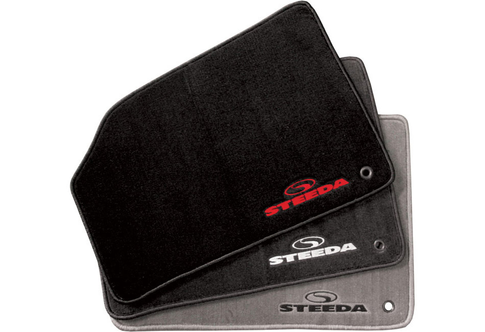 Floor Mats; Accessories; Steeda carries a selection of floor mats for the 2013-2016 Ford Focus ST. Steeda carries a wide-range of accessories for your Focus using only the highest quality materials. From Focus gauges and tool kits to floor mats, brackets and lights, we offer thes