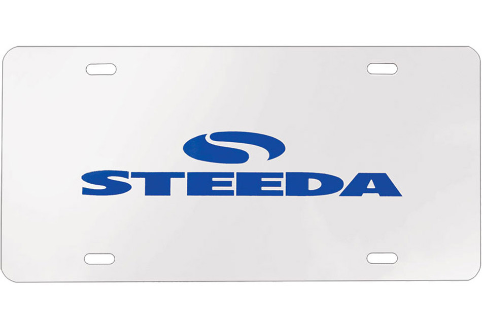 Steeda Focus Chrome License Plate (00-17 All)