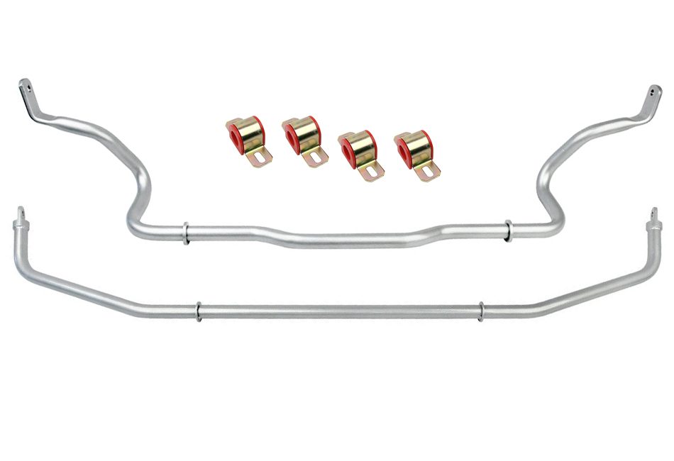 Focus Sway Bars; Suspension; Looking to upgrade your Focus's suspension? You've come to the right place! Steeda is world-renowned for our suspension and steering components. We offer a wide-range of upgrades, from lowering springs, caster camber plates, sway bars, end links, shocks