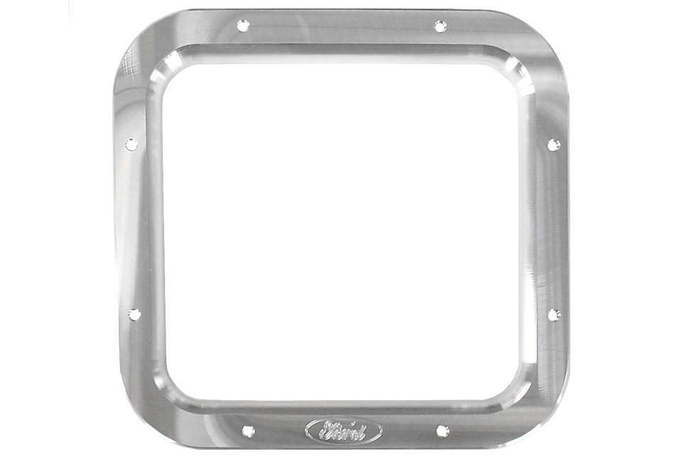 Steeda Fox Body Mustang Shifter Bezel - Machined/Steeda Logo (87-93)