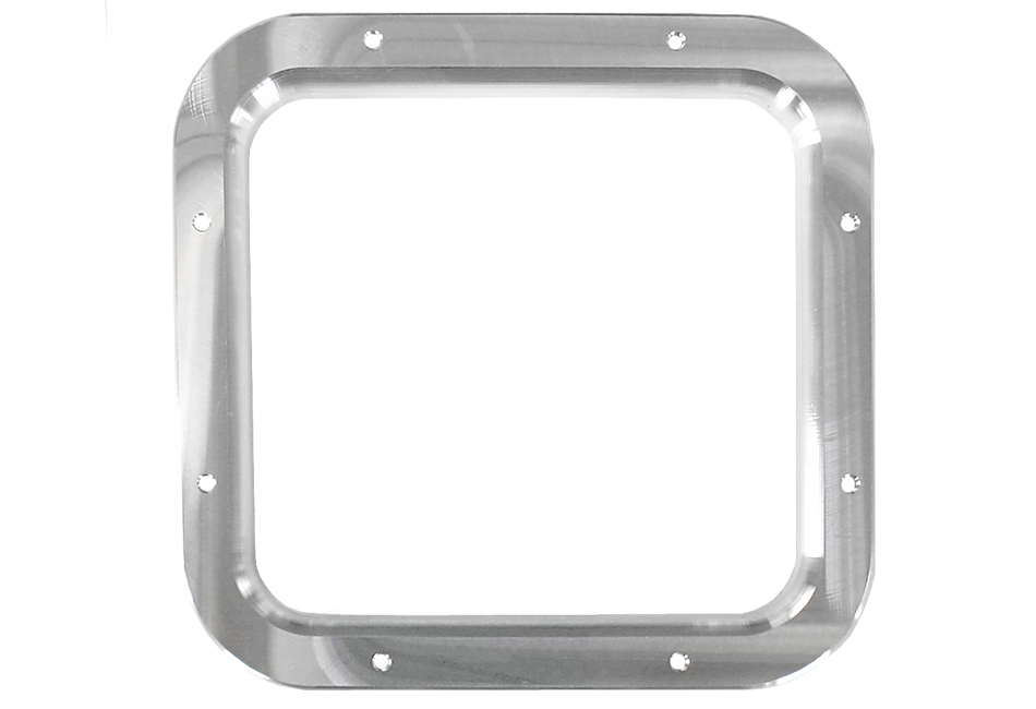 Steeda Fox Body Mustang Shifter Bezel - Polished/No Logo (87-93)