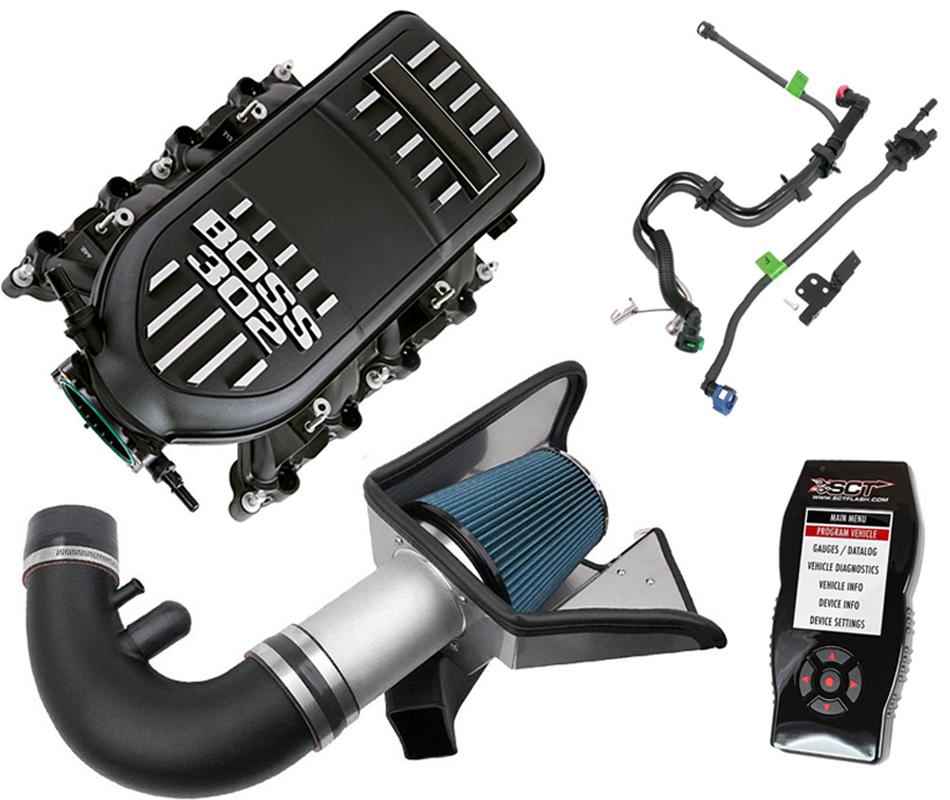 Steeda S197 Mustang Power Pack w/ Boss Intake Manifold - Automatic (11-14 GT)
