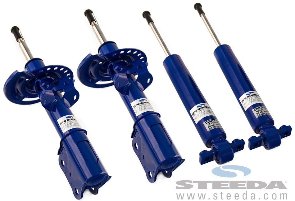 Steeda Pro-Action Shocks and Struts (15-18 GT/V6/EcoBoost) (Non-Adjustable)