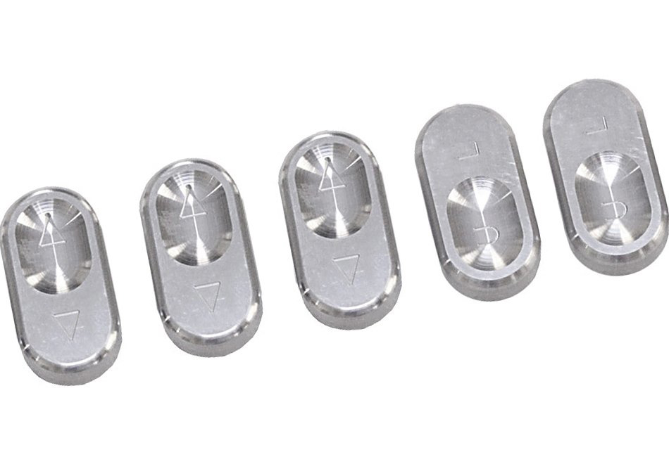 Steeda Mustang Window Switch Buttons - Convertible (94-04)