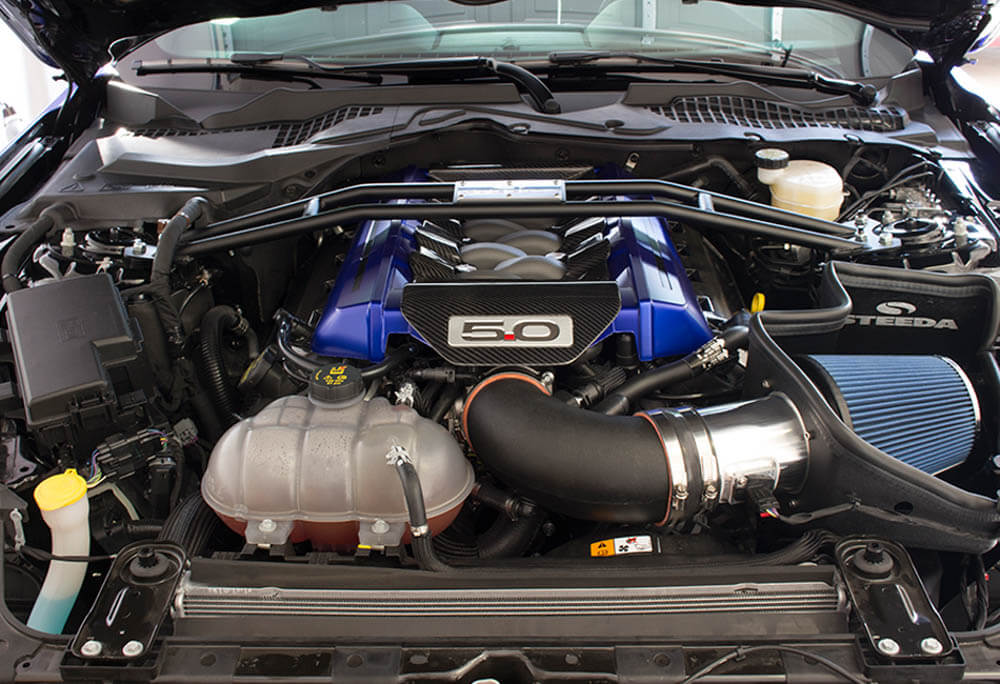 Steeda Proflow S550 5 0l Coyote Mustang Cold Air Intake