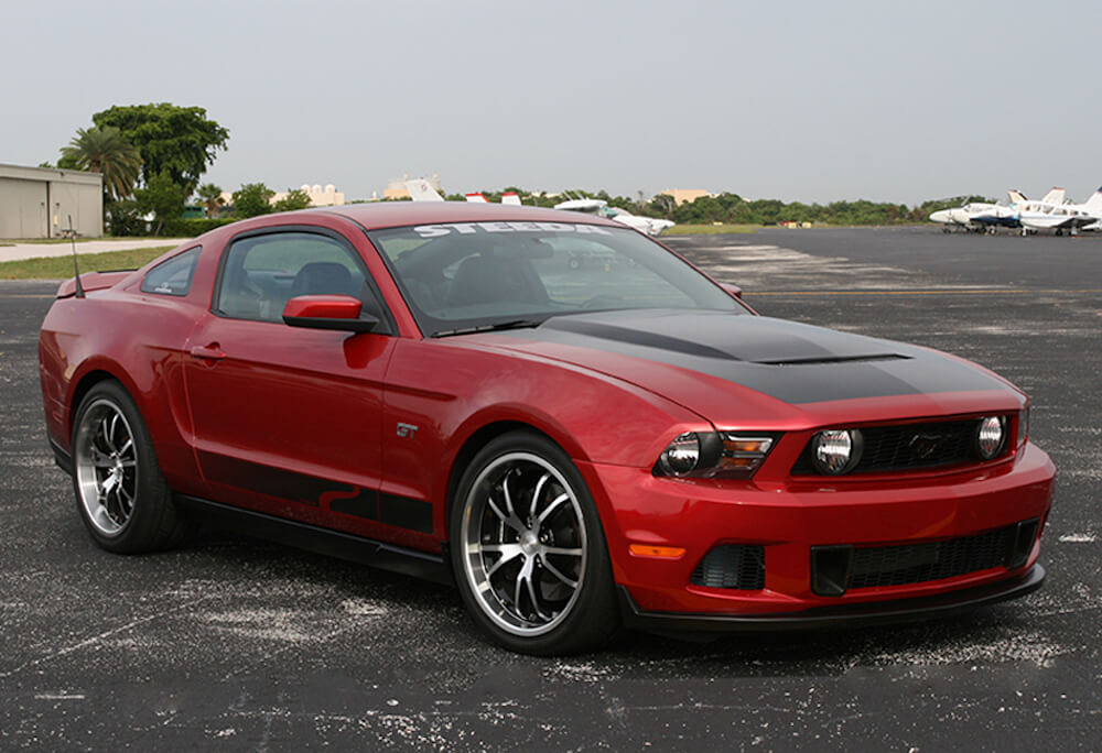 2014 Ford Fusion Tires >> Steeda Ford Mustang Spyder Wheel - Black w/ Machined Face ...