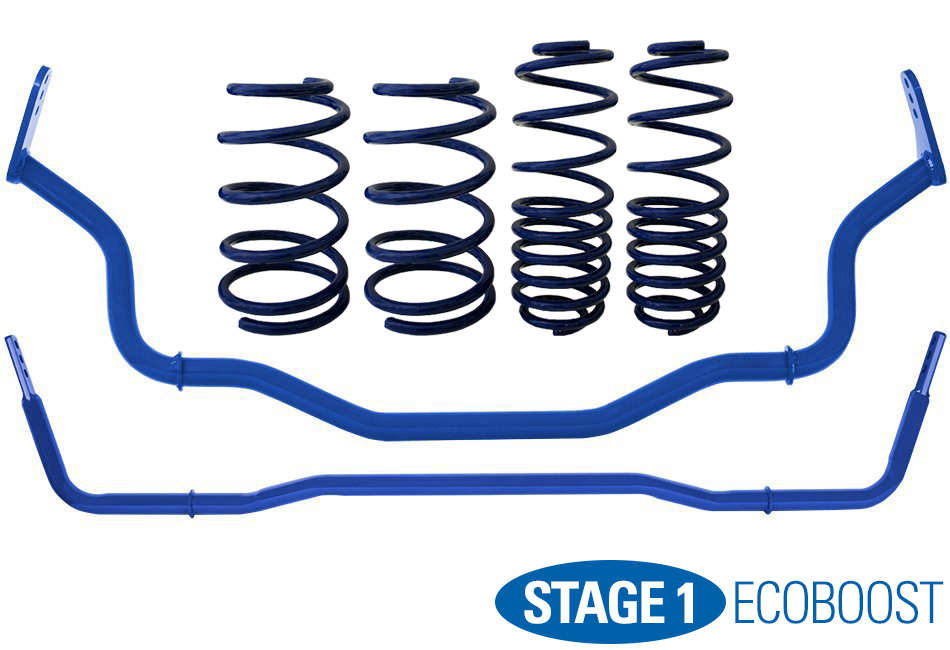 Steeda Stage 1 Handling Package - Sport Progressive (15-17 EcoBoost)