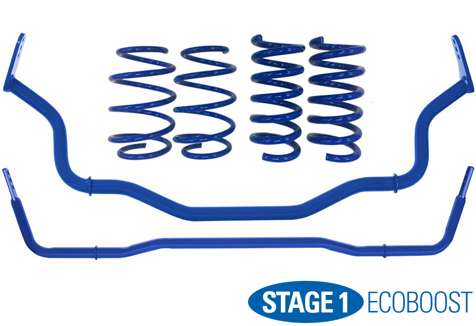 Steeda Stage 1 Handling Package - Linear (15-17 EcoBoost)