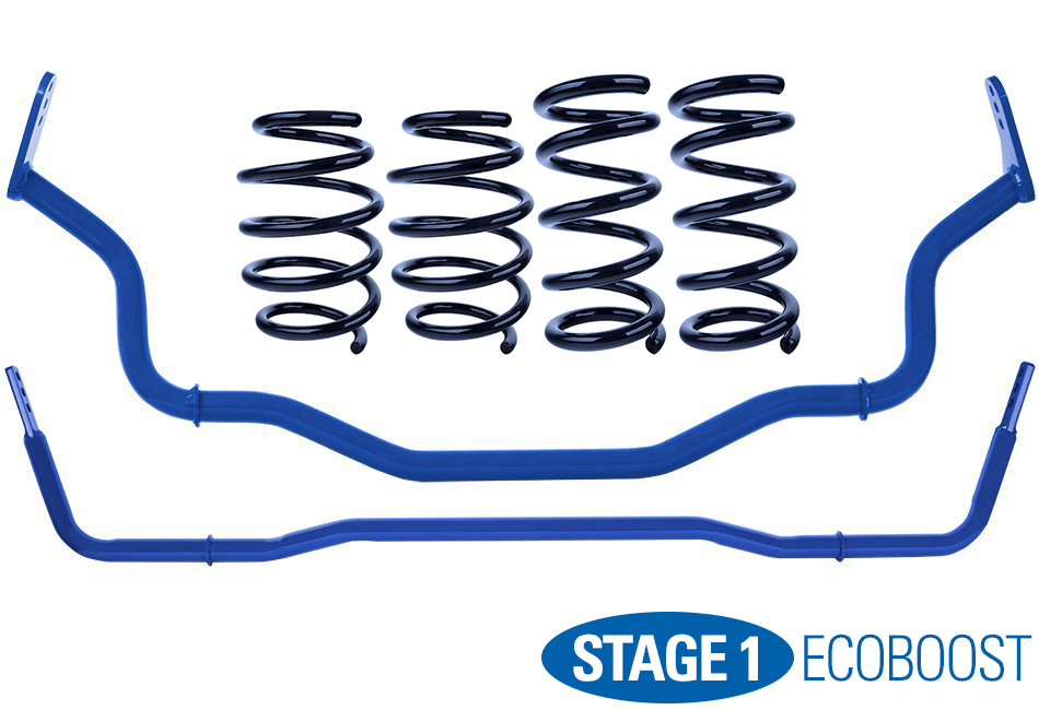 Steeda Stage 1 Handling Package - Ultralite Linear (15-17 EcoBoost)