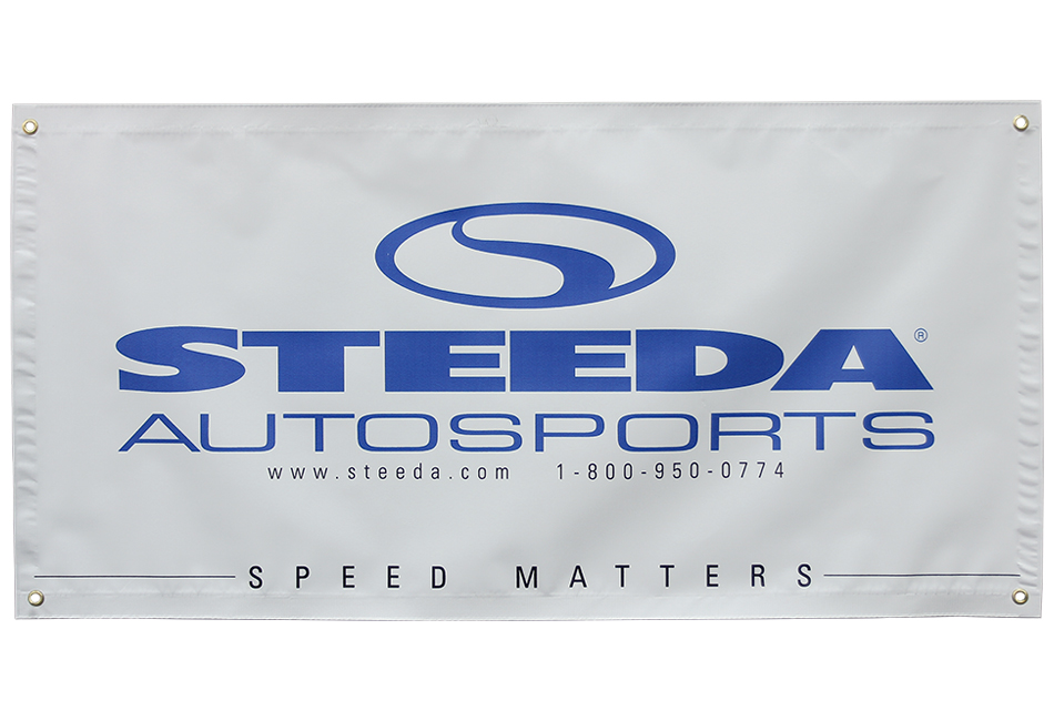 Steeda 'Speed Matters' Banner (48