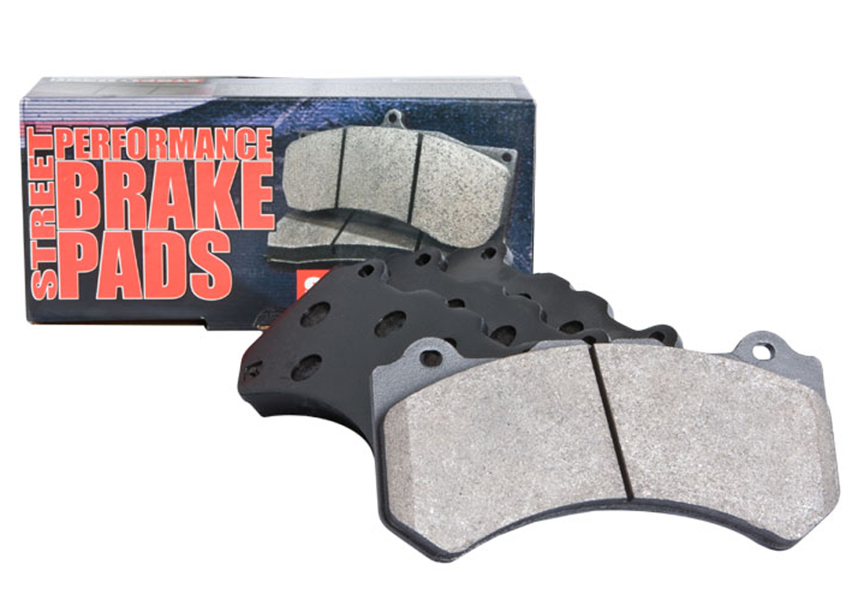 StopTech Fusion Sport Front Brake Pads (06-12)