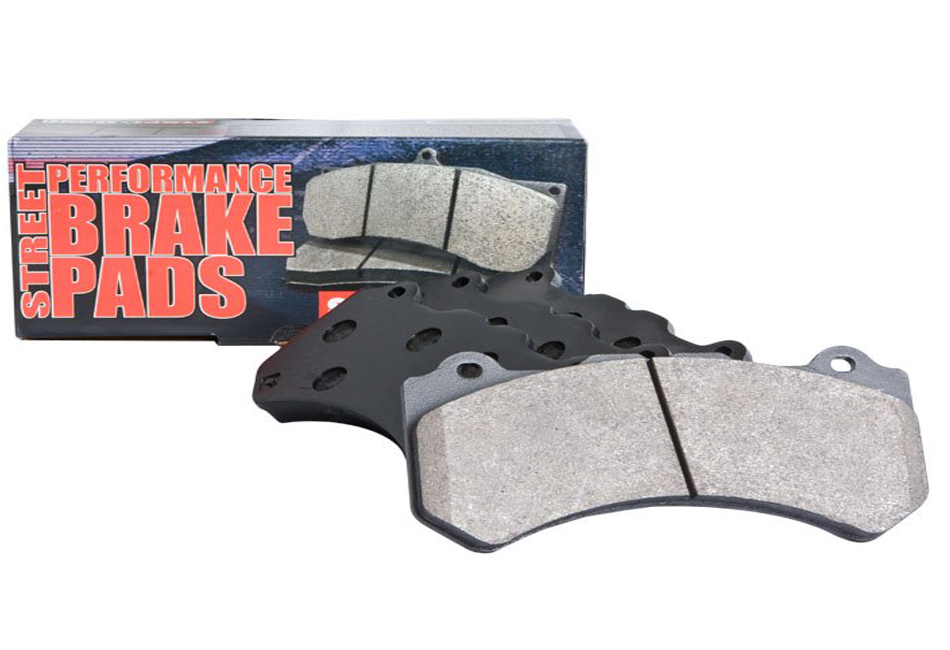 StopTech Mustang Street Performance Front Brembo Brake Pads (07-14)