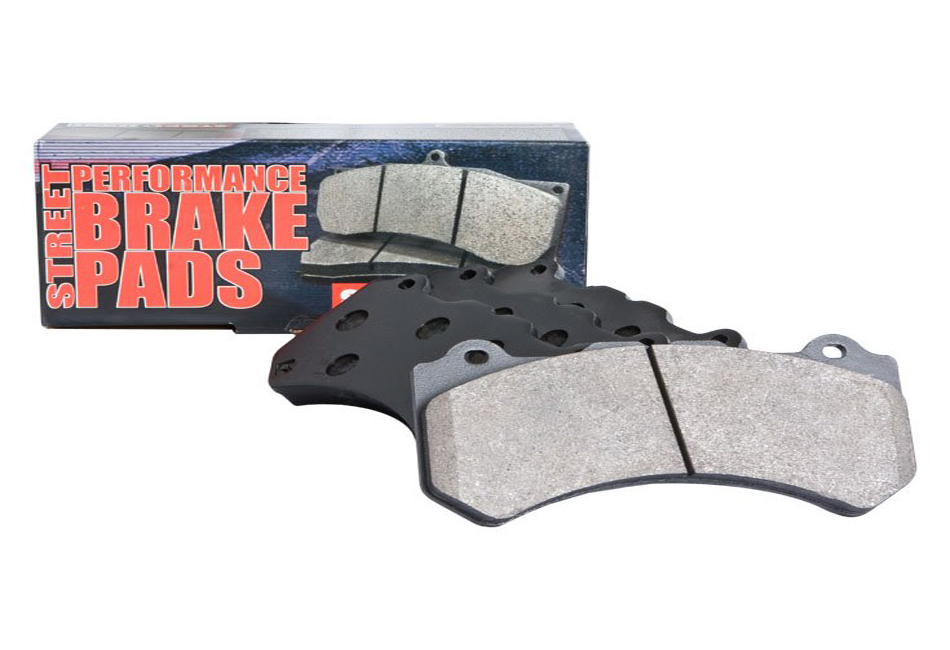 StopTech Mustang Street Performance Front Brake Pads (11-14) V6