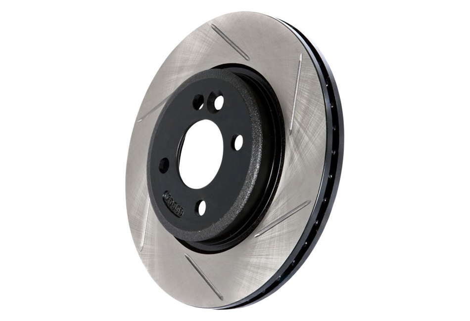 StopTech Slotted Mustang Front Performance Rotors (07-14)