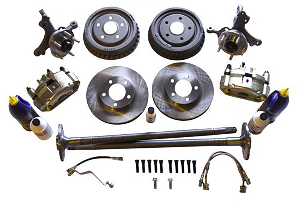 SVE Mustang 5 Lug Brake Conversion Kit w/ Rear Drums (79-93)