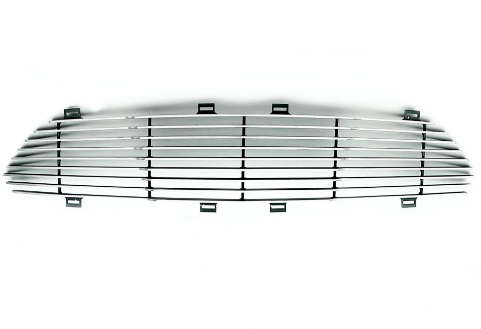 T-Rex Grilles Mustang Billet Series Polished Aluminum Horizontal Grille (15-17 All)