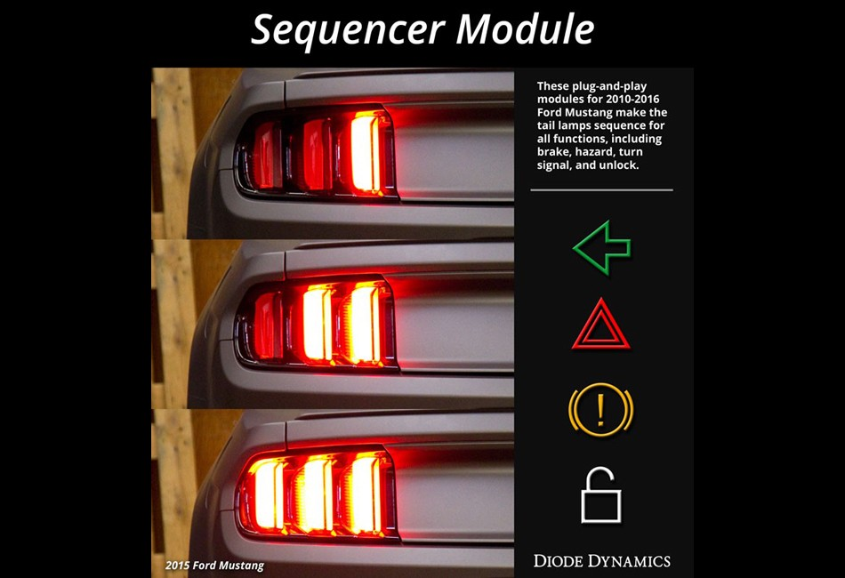 Diode Dynamics Mustang Taillight Sequencer Module (10-19 All)