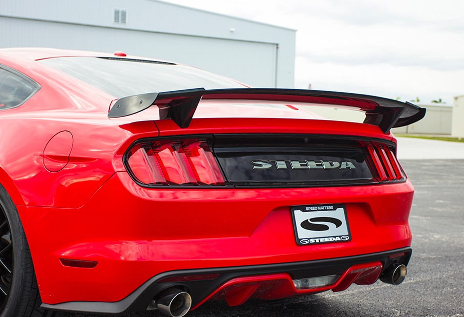 Steeda S550 Mustang Functional Race Wing  All (2015-2020)
