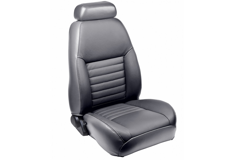 TMI Mustang GT Coupe Full Front & Rear Sport Leather Seat Upholstery Set (2000-2004)