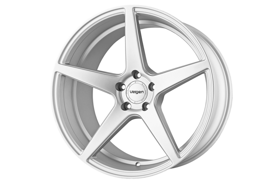 Velgen Wheels Classic5 Matte Silver Rear Wheel - 20x10.5 (05-20 Mustang)