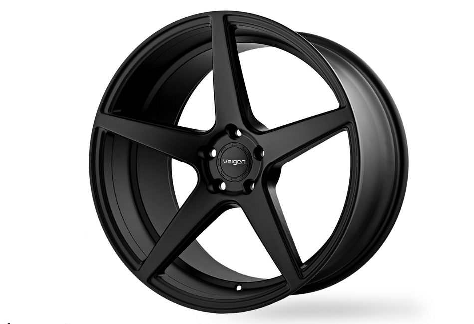 Velgen Wheels Classic5 Satin Black Front Wheel - 20x9 (05-20 Mustang)