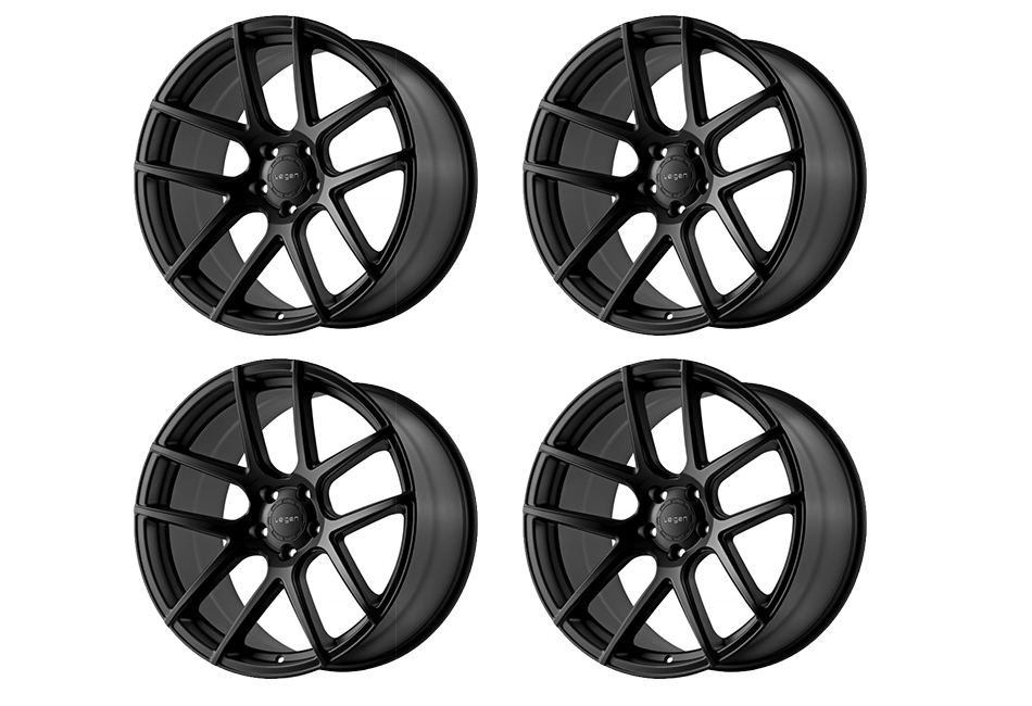 Velgen Wheels VMB5 Satin Black Staggered Wheel Set - 20x9 and 20x10.5 (05-16)