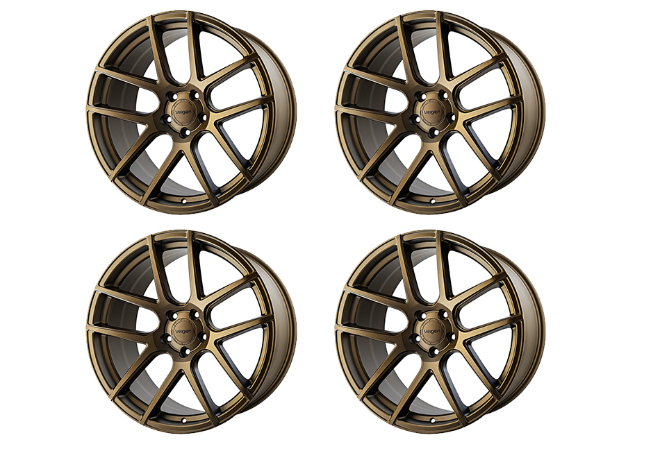 Velgen Wheels VMB5 Satin Bronze Staggered Wheel Set - 20x9 and 20x10.5 (05-20)