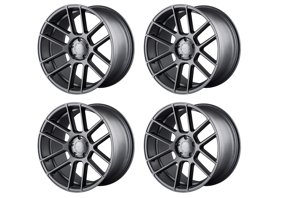 Velgen Wheels VMB6 Matte Gunmetal Staggered Wheel Set - 20x9 and 20x10.5 (05-20)