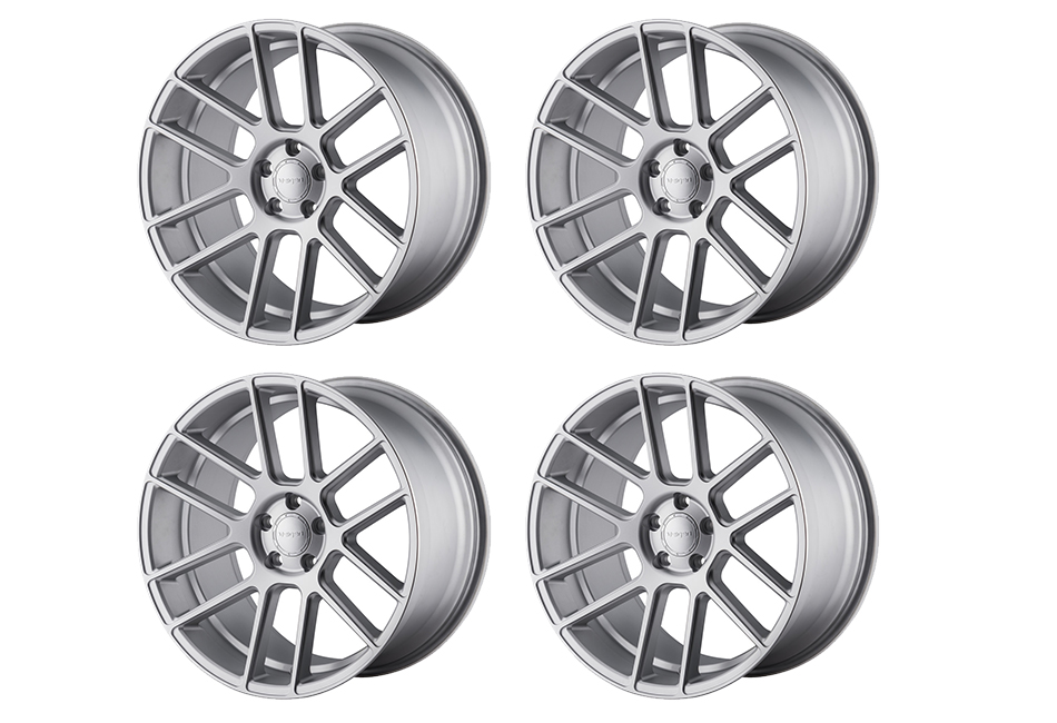 Velgen Wheels VMB6 Matte Silver Staggered Wheel Set - 20x9 and 20x10.5 (05-20)