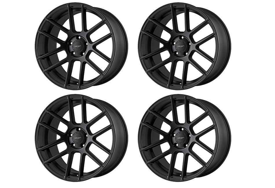 Velgen Wheels VMB6 Satin Black Staggered Wheel Set - 20x9 and 20x10.5 (05-20)