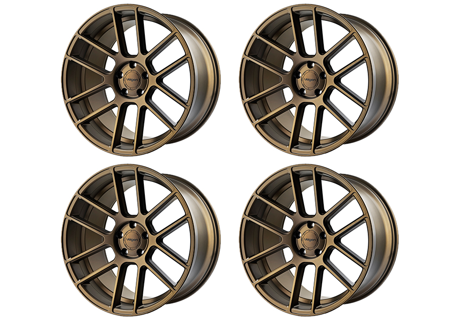 Velgen Wheels VMB6 Satin Bronze Staggered Wheel Set - 20x9 and 20x10.5 (05-20)