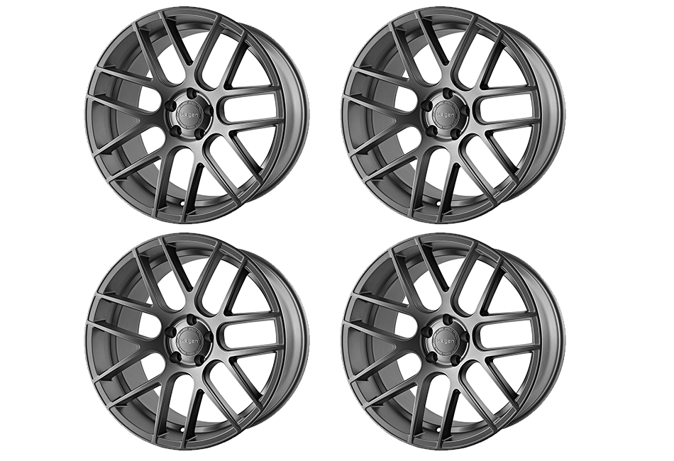 Velgen Wheels VMB7 Matte Gunmetal Staggered Wheel Set - 20x9 and 20x10.5 (05-16)