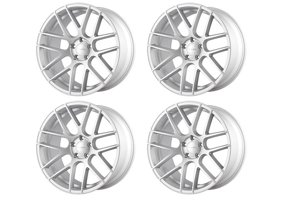 Velgen Wheels VMB7 Matte Silver Staggered Wheel Set - 20x9 and 20x10.5 (05-20)
