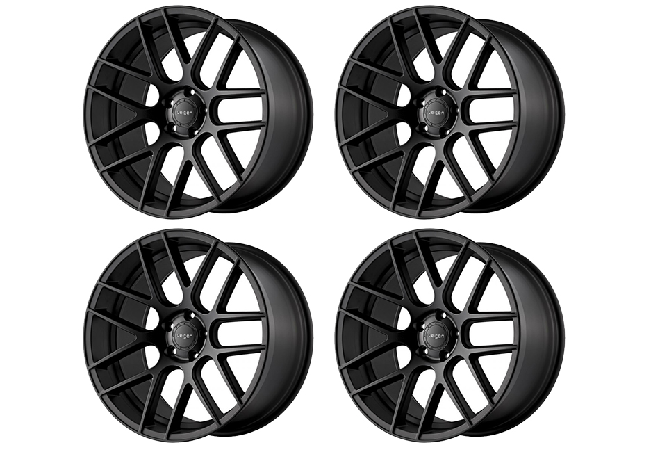 Velgen Wheels VMB7 Satin Black Staggered Wheel Set - 20x9 and 20x10.5 (05-20)