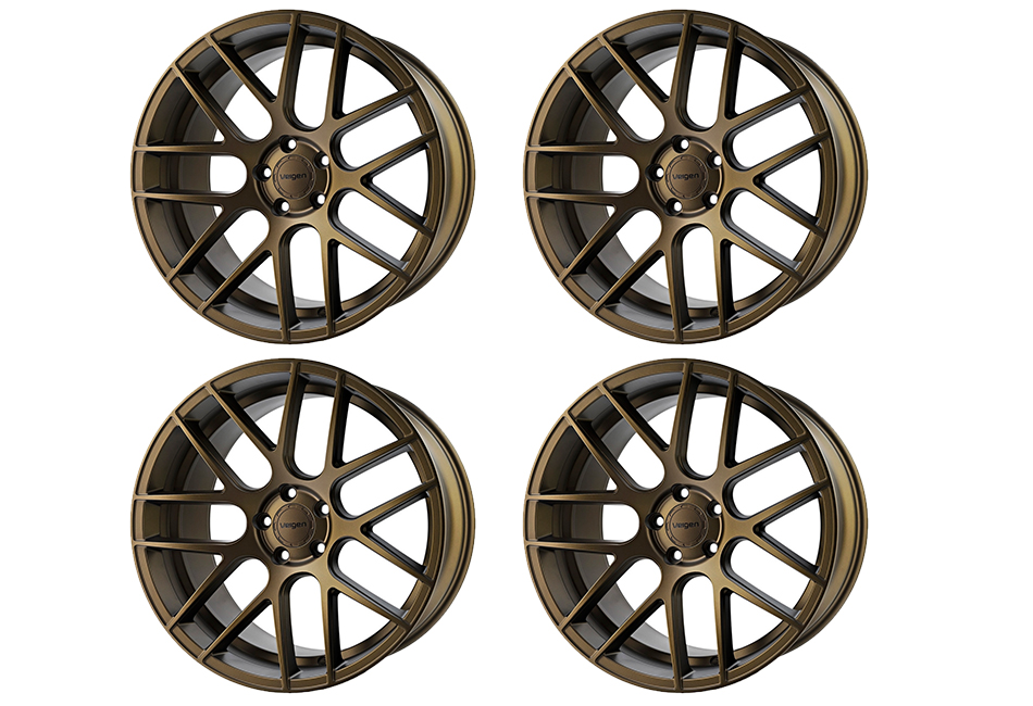 Velgen Wheels VMB7 Satin Bronze Staggered Wheel Set - 20x9 and 20x10.5 (05-20)