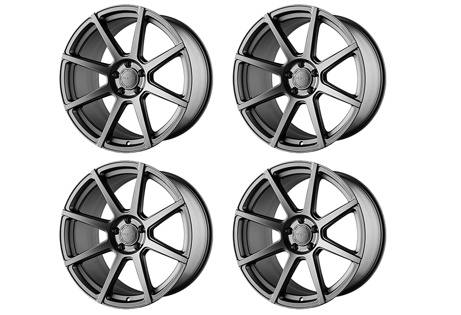 Velgen Wheels VMB8 Matte Gunmetal Staggered Wheel Set - 20x9 and 20x10.5 (05-20)